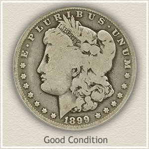 1899 Morgan Silver Dollar Good Condition