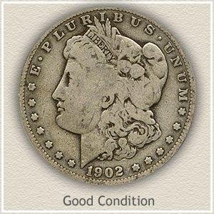1902 Morgan Silver Dollar Good Condition