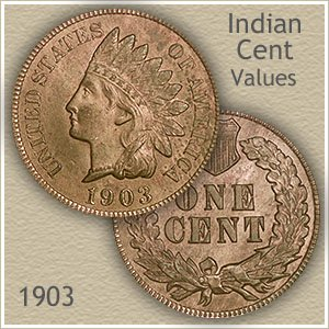 Uncirculated 1903 Indian Head Penny