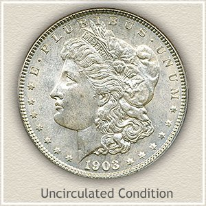 1903 Morgan Silver Dollar Uncirculated Condition