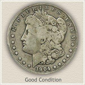 1904 Morgan Silver Dollar Good Condition