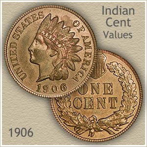 Uncirculated 1906 Indian Head Penny