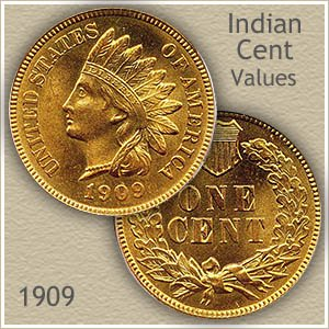 1909 indian head penny value discover their worth. Black Bedroom Furniture Sets. Home Design Ideas