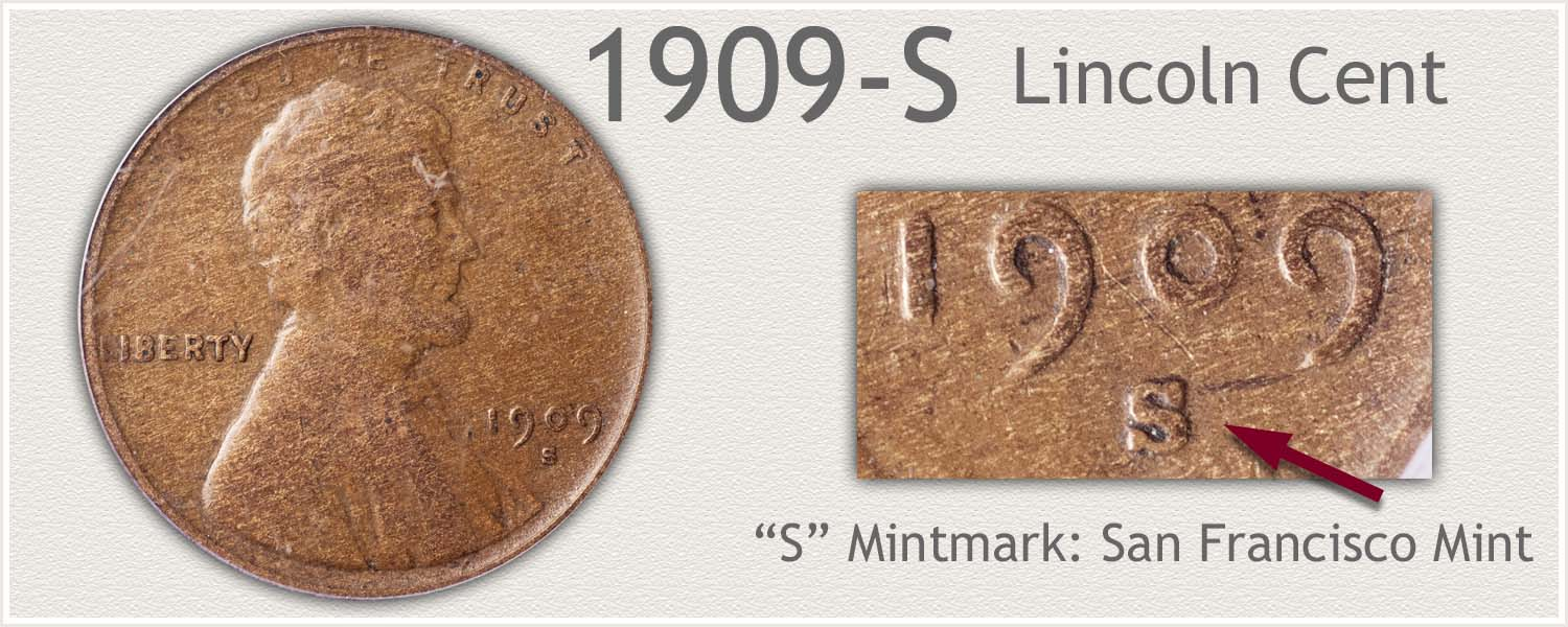 1909-S Lincoln Penny