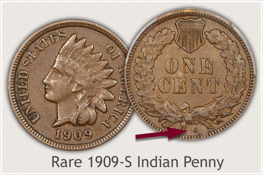 1909-S Rare Indian Cent