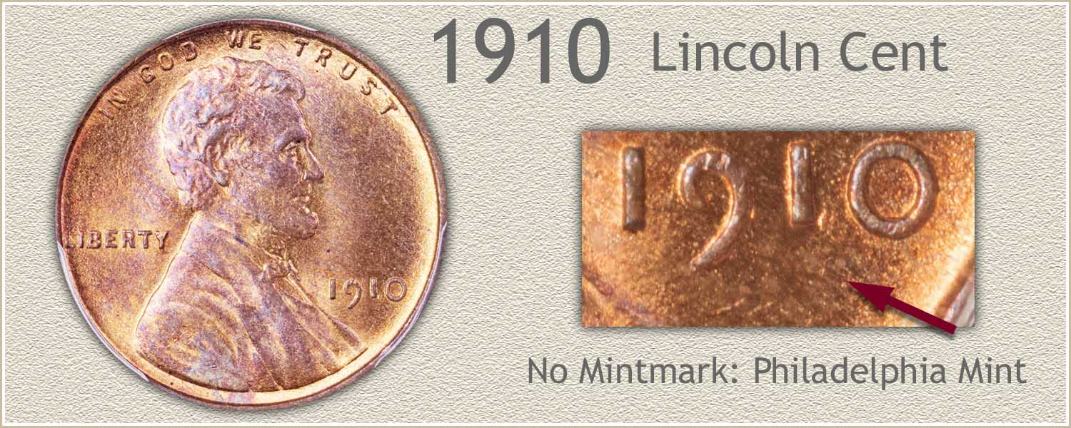 1910 Lincoln Penny