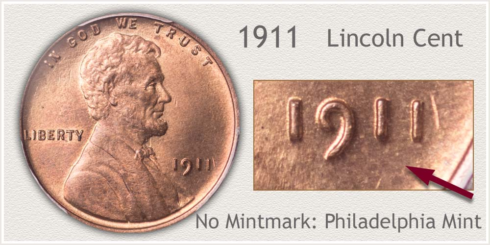 1911 Lincoln Penny