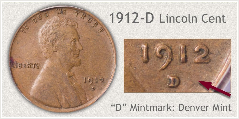 1912-D Lincoln Penny