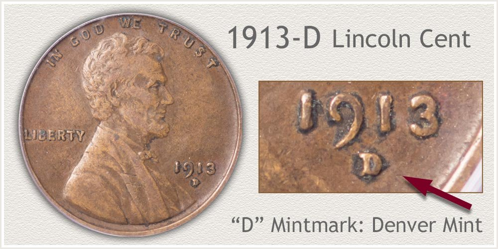 1913-D Lincoln Penny