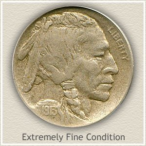 1913 Nickel Extremely Fine Condition