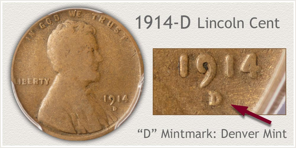 1914-D Lincoln Penny