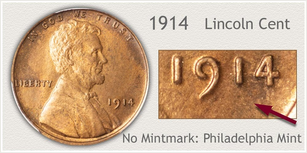 1914 Lincoln Penny