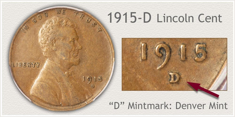 1915-D Lincoln Penny