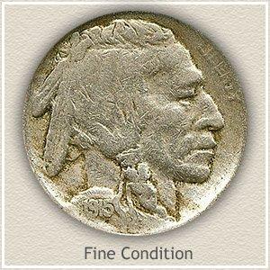 1915 Nickel Fine Condition
