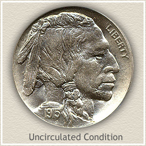 1915 Nickel Uncirculated Condition