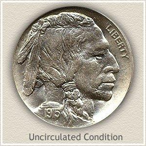 1915 Nickel Uncirculated Condition