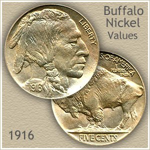 Uncirculated 1916 Nickel Value