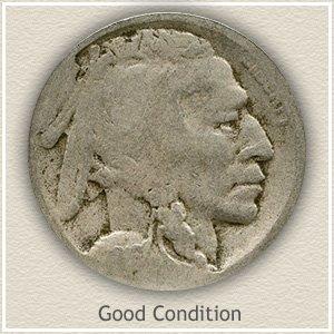 1916 Nickel Good Condition