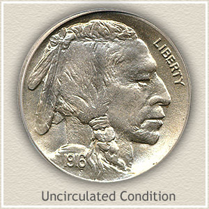 1916 Nickel Uncirculated Condition