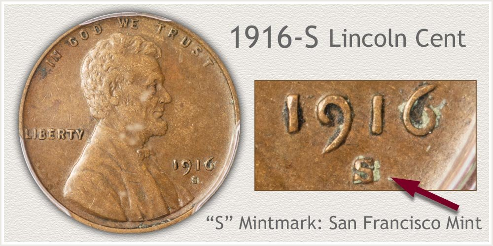 1916-S Lincoln Penny
