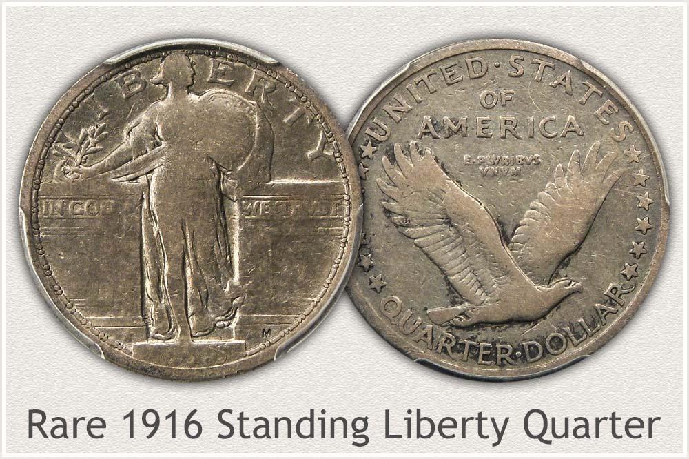 1916 Standing Liberty Quarter