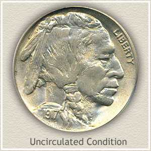 1917 Nickel Uncirculated Condition