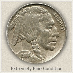 1918 Nickel Extremely Fine Condition