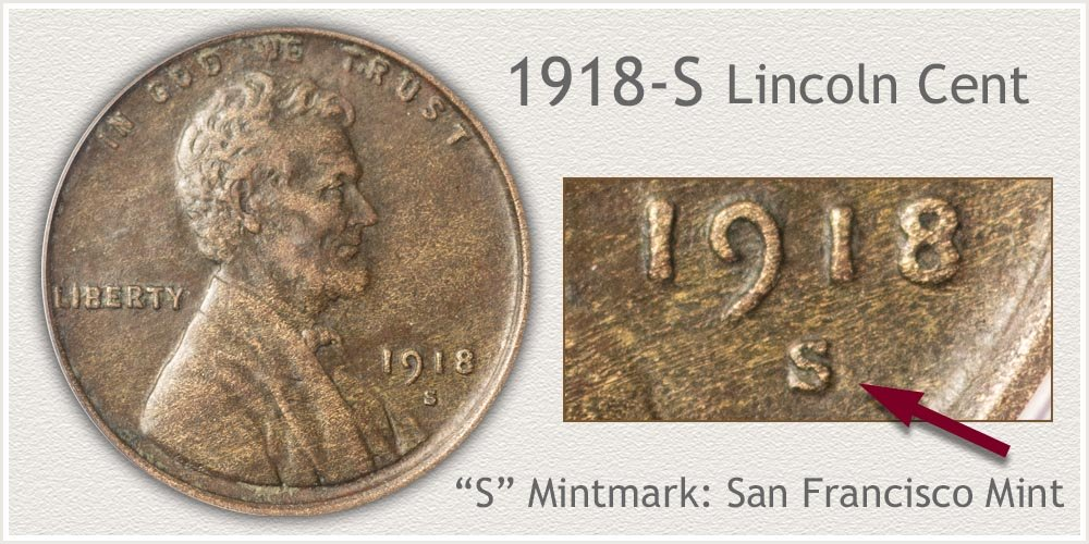 1918-S Lincoln Penny