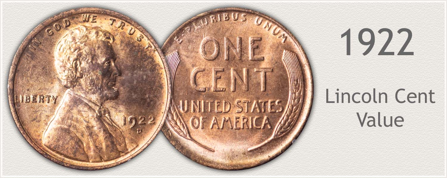 1922 Lincoln Wheat Penny