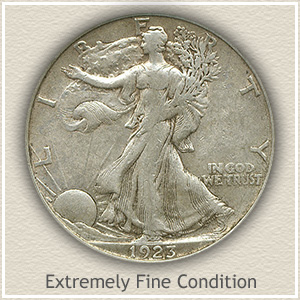 1923 Half Dollar Extremely Fine Condition