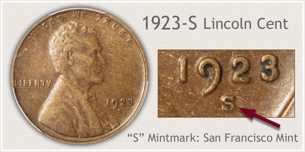 1923-S Lincoln Penny