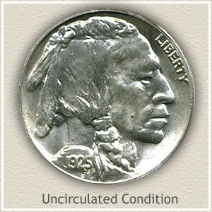 1925 Nickel Uncirculated Condition