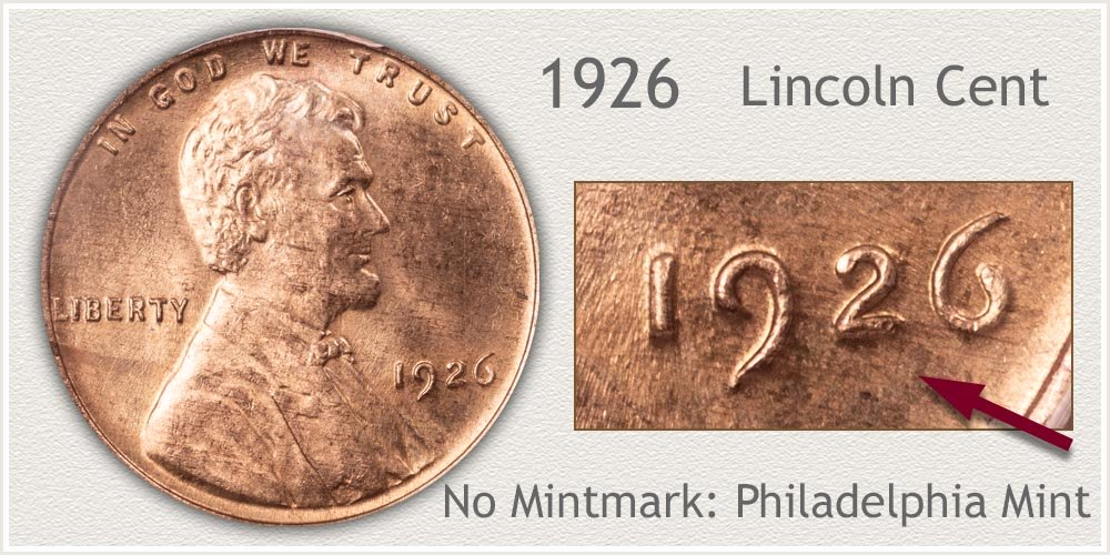 1926 Lincoln Penny