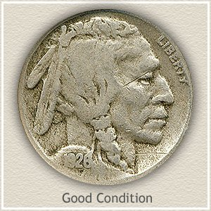 1926 Nickel Good Condition
