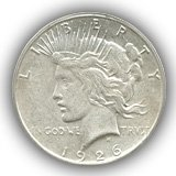 1926 Peace Silver Dollar Extremely Fine Condition