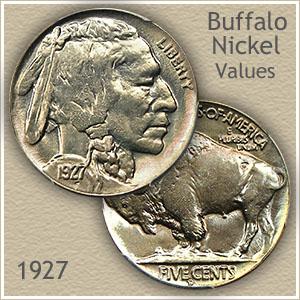 1927 Uncirculated Nickel Value