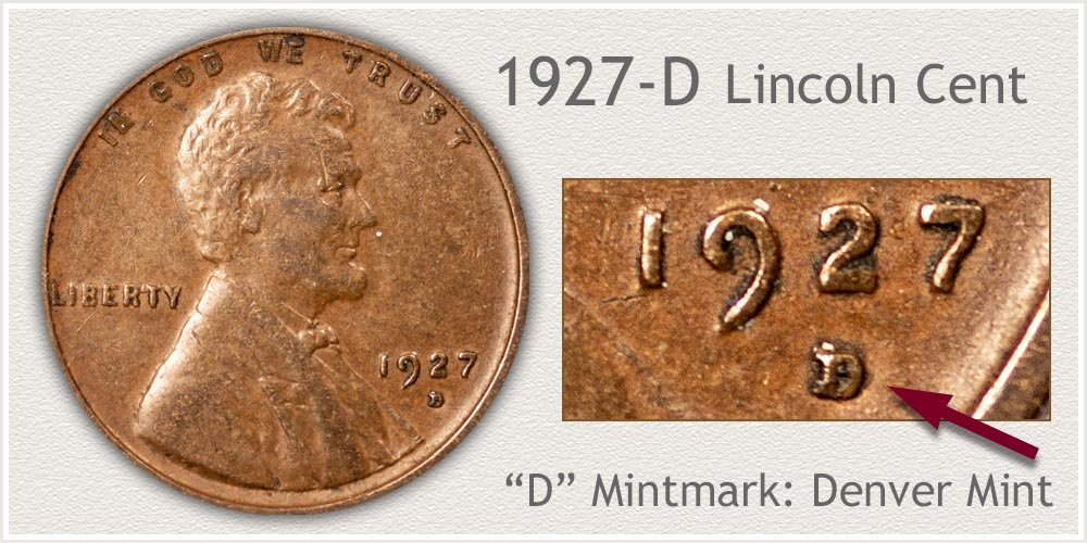 1927-D Lincoln Penny