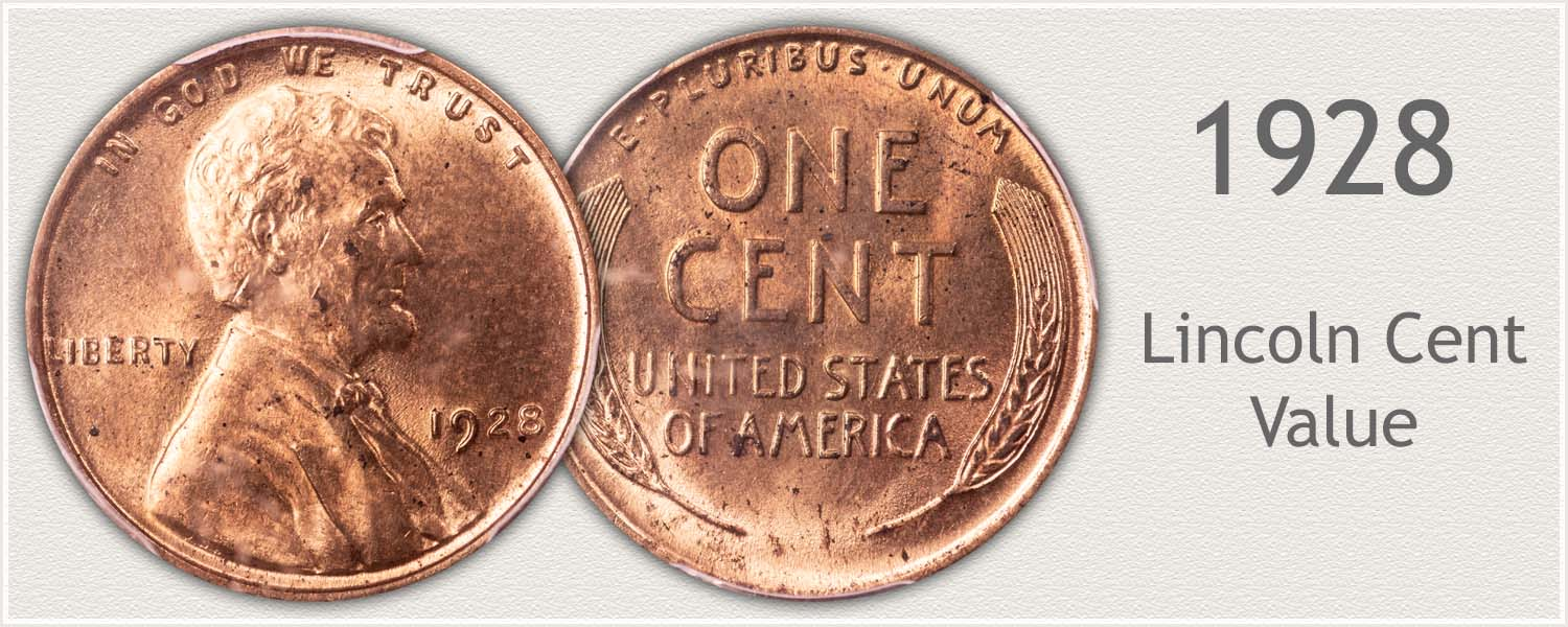 1928 Lincoln Wheat Penny