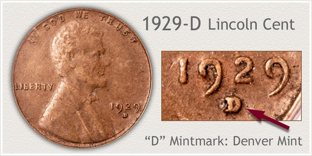 1929-D Lincoln Penny