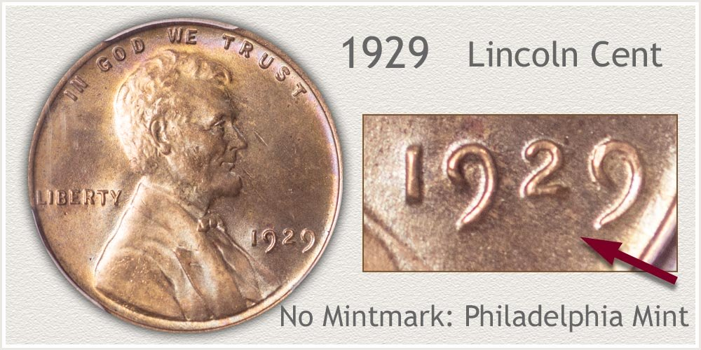 1929 Lincoln Penny