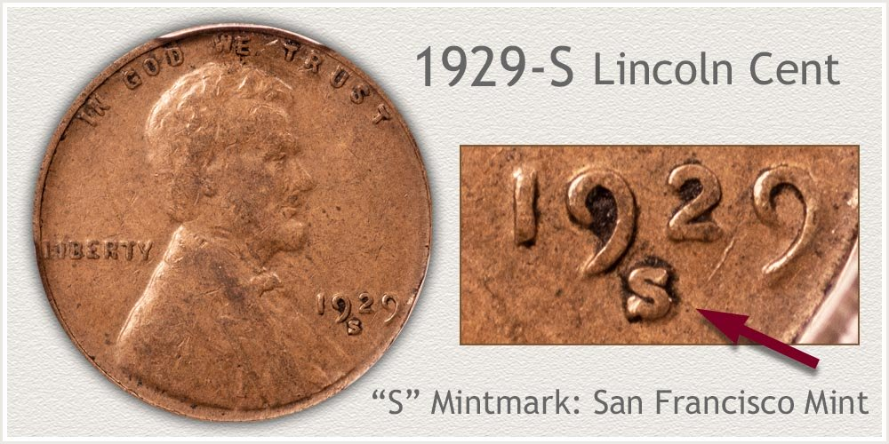 1929-S Lincoln Penny