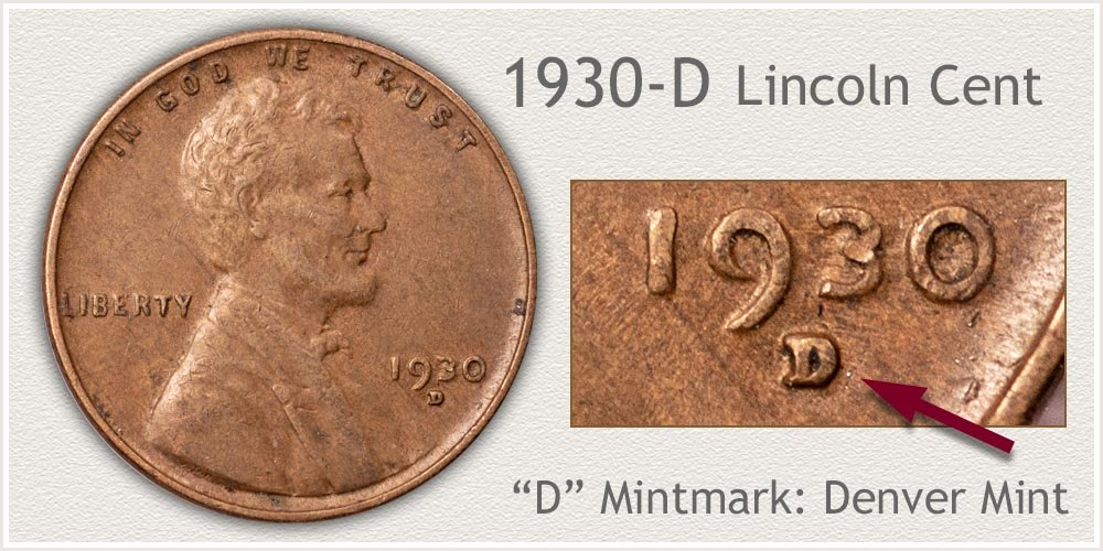 1930-D Lincoln Penny