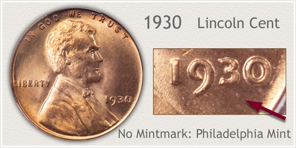 1930 Lincoln Penny