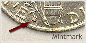 1931 Dime S Mintmark Location