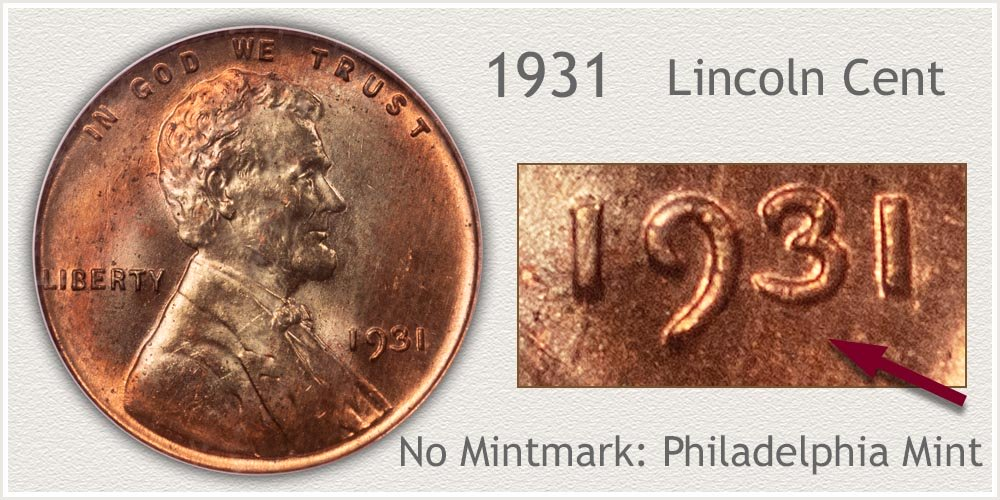 1931 Lincoln Penny