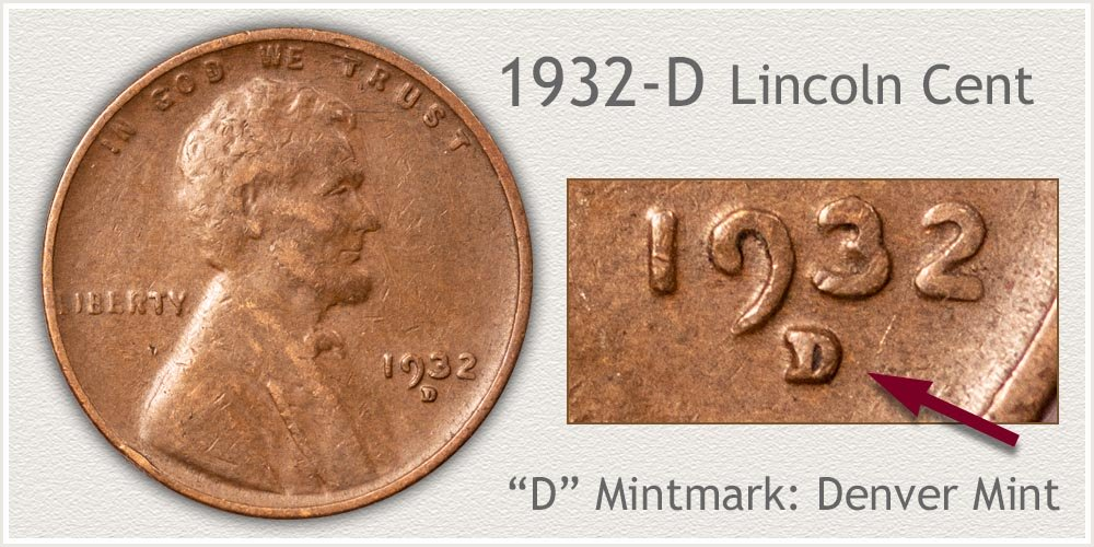 1932-D Lincoln Penny