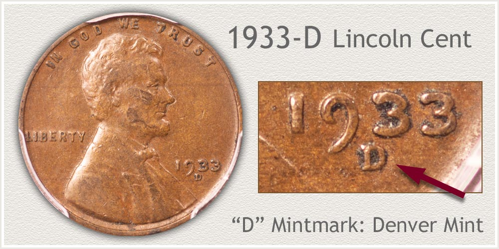 1933-D Lincoln Penny