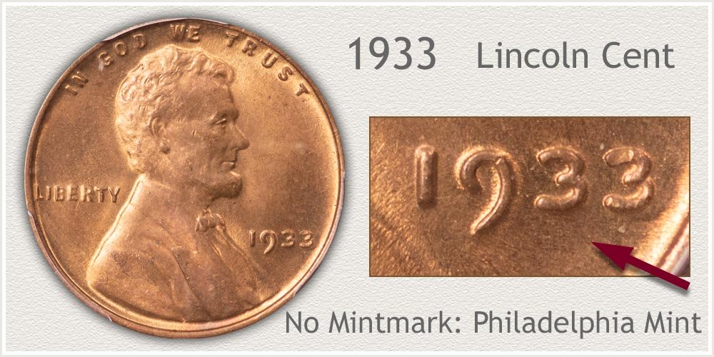 1933 Lincoln Penny
