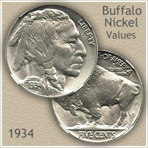 Uncirculated 1934 Nickel Value