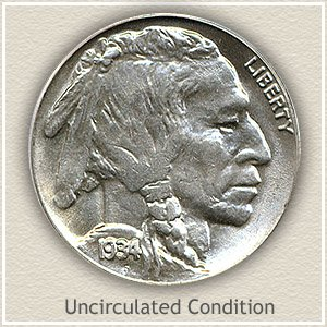 1934 Nickel Uncirculated Condition